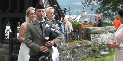 Your Celtic Wedding – Part 4 – Hiring a Bagpiper